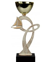 Mons Pewter Sailing Trophy Cup