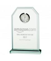 Vitoria Jade Glass Clock Award
