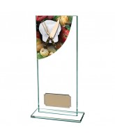 Colour Curve Jade Glass Cooking Trophy