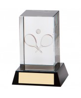Conquest Crystal Tennis Trophy