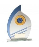 Legion Mirrored Glass Logo Insert Trophy