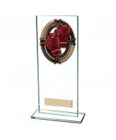 Maverick Legacy Jade Glass Boxing Trophy
