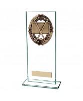 Maverick Legacy Jade Glass Field Hockey Trophy