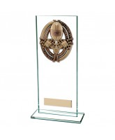 Maverick Legacy Jade Glass Motorsports Trophy