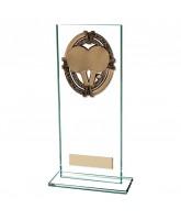 Maverick Legacy Jade Glass Table Tennis Trophy