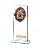 Maverick Legacy Jade Glass Ten Pin Bowling Trophy