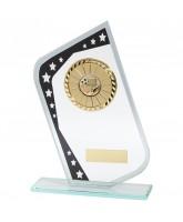 Meteor Mirrored Jade Glass Logo Insert Trophy