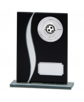 Spirit Black Mirrored Glass Logo Insert Trophy