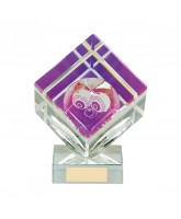 Victorious 3D Crystal Lawn Bowls Trophy