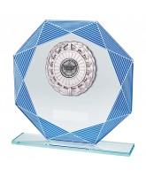 Vortex Mirrored Jade Glass Logo Insert Trophy