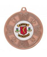 Balmoral Logo Insert Bronze Medal 50mm