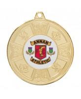 Balmoral Logo Insert Gold Medal 50mm