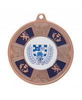 Braemar Logo Insert Bronze Medal 50mm