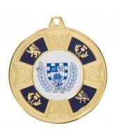 Braemar Logo Insert Gold Medal 50mm