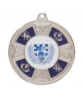 Braemar Logo Insert Silver Medal 50mm
