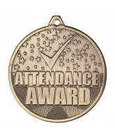 Cascade Attendance Gold Medal 50mm