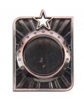 Centurion Star Logo Insert Bronze Medal 50mm