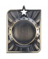 Centurion Star Logo Insert Gold Medal 50mm