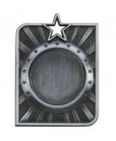 Centurion Star Logo Insert Silver Medal 50mm