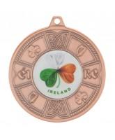 Eire Logo Insert Bronze Medal 50mm