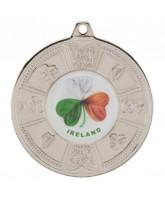 Eire Logo Insert Silver Medal 50mm