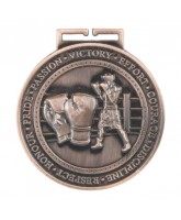 Olympia Boxing Medal Bronze 70mm