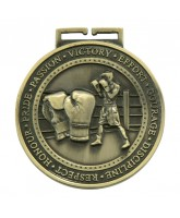 Olympia Boxing Medal Gold 70mm