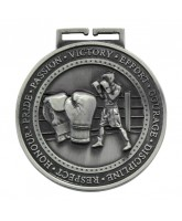 Olympia Boxing Medal Silver 70mm