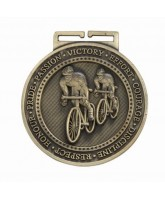 Olympia Cycling Medal Gold 60mm