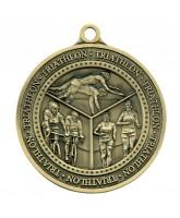 Olympia Triathlon Medal Gold 60mm