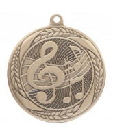 Typhoon Music Notes Gold Medal