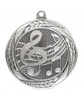 Typhoon Music Notes Silver Medal