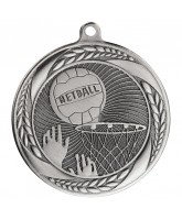 Typhoon Netball Silver Medal