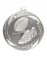 Typhoon Rugby Silver Medal