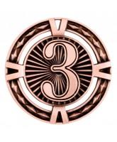 V-Tech 3rd Place Bronze Medal 60mm