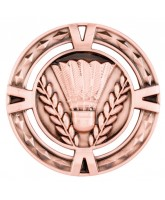 V-Tech Badminton Bronze Medal 60mm