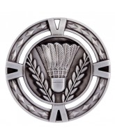 V-Tech Badminton Silver Medal 60mm