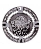 V-Tech Basketball Silver Medal 60mm