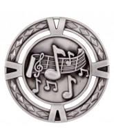 V-Tech Music Silver Medal 60mm