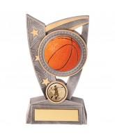 Triumphant 3D Basketball Trophy