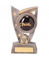 Triumphant 3D Ten Pin Bowling Ball Trophy