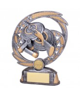 Sonic Boom Clay Pigeon Shooting Trophy