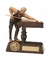 Big Break Pool & Snooker Player Trophy