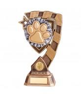 Euphoria Dog Paw Trophy
