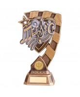 Euphoria Music Notes Trophy