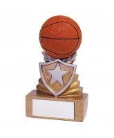 Mini Shield Basketball Trophy