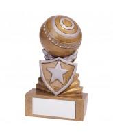 Mini Shield Lawn Bowls Trophy