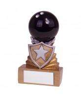 Mini Shield Ten Pin Bowling Trophy