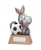 Novelty Donkey Football Trophy