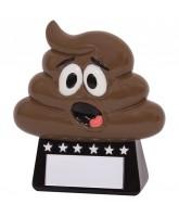 """""""Oh Poop!"""" Novelty Trophy"""